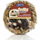 Johnson's Guinea Pig & Hamster Fruity Bowl