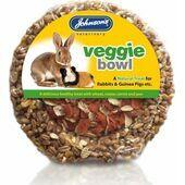 Johnson\'s Rabbit & Guinea Pig Veggie Bowl