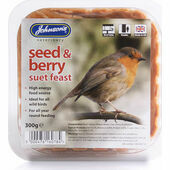Johnson\'s Berry Suet Feast 300g