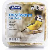 Johnson\'s Mealworm Suet Feast 300g