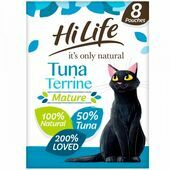 HiLife it's only natural MATURE Tuna Terrine Pouch Multipack 8 x 70g