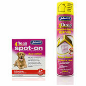 Johnson's 4fleas Dog Flea Treatment Bundle (Large Dogs Over 25kg)