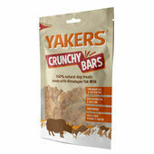 Yakers Crunchy Bars Natural Dog Treats