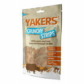 Yakers Crunchy Strips Natural Dog Treats