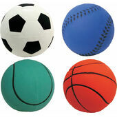 Assorted Sports Dog Ball