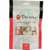 Perrito 100% Chicken & Pollock Sushi Dog Snacks 100g