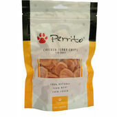 Perrito 100% Chicken Jerky Chips Dog Snacks 100g