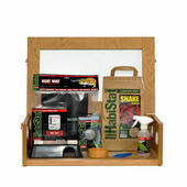 HabiStat Hatching Snake Starter Kit in Oak