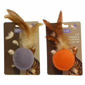 Kitty & Co Cat Teaser Ball With Catnip (Assorted)