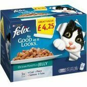 Felix As Good As It Looks Ocean Feasts In Jelly 100g