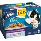 Felix As Good As It Looks Favourites Selection In Jelly 100g