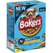 Bakers Adult Chicken & Vegetable 1kg