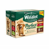 12 x Winalot Pouch Perfect Portions Lamb & Carrot 100g