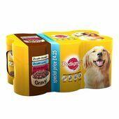 PEDIGREE Dog Tins Mixed Selection in Gravy 6x400g