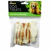 Bestpets Chicken & Rawhide Dog Treats 100g