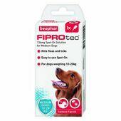 Beaphar FIPROtec Spot-On for Medium Dogs 1 pipette