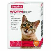 WORMclear Cat 2 Tablets