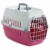 Safe \'N\' Sound Pet Carrier Road Runner 1 Hot Pink 48cm