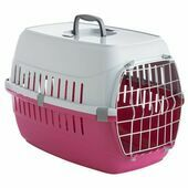 Safe \'N\' Sound Pet Carrier Road Runner 2 Hot Pink 56cm