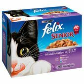 Felix Pouch Senior Mixed Selection In Jelly 12 Pack 100g