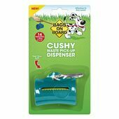 Bags On Board Cushy Waste Pick-Up Dispenser Tea Plus 14 Bags