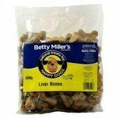 Betty Millers Liver Bones 500g