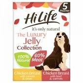 HiLife it's only natural - The Luxury Jelly Collection 5 x 100g Multipack