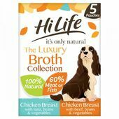 HiLife it's only natural - The Luxury Broth Collection 5 x 100g Multipack