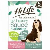HiLife it\'s only natural - The Luxury Sauce Collection 5 x 100g Multipack