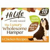HiLife it's only natural - The Luxury Wholesome Hamper 18x100g Multipack