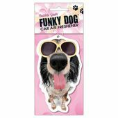 Funky Dog Air Freshner Bubble Gum