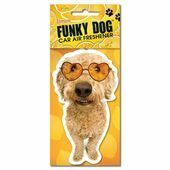 Funky Dog Air Freshener Lemon