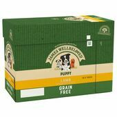 JAMES WELLBELOVED Grain Free Lamb Pouch Puppy 12x100g