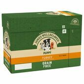 JAMES WELLBELOVED Grain Free Turkey Pouch Puppy 12x100g