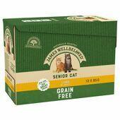 James Wellbeloved Grain Free Cat Pouch Senior Lamb 12 x 85g