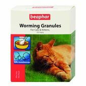 Beaphar Worming Granules for Cats & Kittens 4g