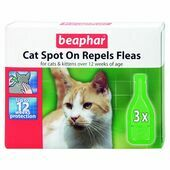 Beaphar Cat Spot On Flea Treatment 12 Week