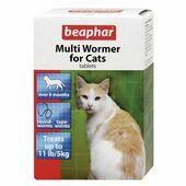 Beaphar Multiwormer Cat 12 Tablets