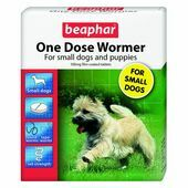 Beaphar One Dose Wormer for Small Dogs & Puppies 3 Tablets