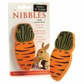 Small \'N\' Furry Carrot Wood Chew Large