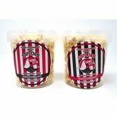 Barking Bakery Hen Garlic Popcorn Tub 55g
