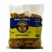 Betty Millers Cheese Fantails 500g
