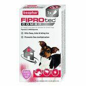 Beaphar FIPROtec COMBO Spot On for Small Dogs 1 Treatment