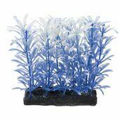 "Fish 'R' Fun Aquarium Plant Blue & Base 4"""