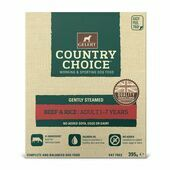 Gelert Country Choice Tray Beef & Rice 10 Pack 395g