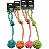 Hem and Boo Fluoro Dog Toy (Assorted)