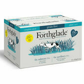 12 x 395g Forthglade Complete Meal Grain Free Adult Fish Variety Pack