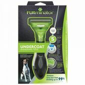 FURminator Undercoat deShedding Tool for Short Hair Dog