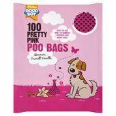 Good Boy Pink Poo Bags