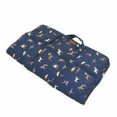 Joules Dog Print Travel Dog Blanket